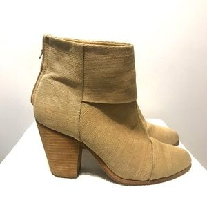 Rag & Bone Newbury bootie camel canvas